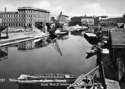 Darsena, foto, 1960
